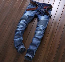 Wholesale BALMAIN jeans men hot mens designer jeans famous brand balmain jeans men distressed jeans ripped denim JN01