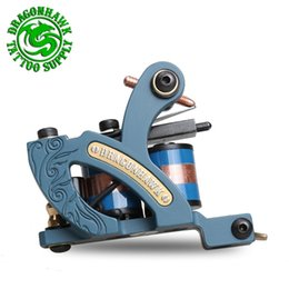 Wholesale New Tattoo Machine Professional Shader Guns Wrap HZ Powerful Shadeing machine Dragonhawk Tattoo gun WQ4456