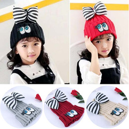 Wholesale Baby Crochet Hats Sequin Wool Cap Kids Hats Girls Caps Autumn Winter Hat Knitted Beanie Hat Children Caps Girls Hats Lovekiss C28752