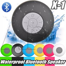 Wholesale Waterproof Wirelesss Mini Bluetooth Speaker Hand free Shower Speaker All Devices For Iphone laptop Showers Bathroom Pool Boat Use