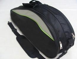 2016 New Arrival 9332 Canvas Sports Duffles badminton cover Zipper Unisex Gym Bags badminton racket bag packaging 3-6 rackets