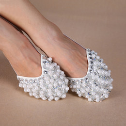Wholesale Pairs Colors Bling Diamond Rhinestone Peals Half Sole Sandal Lyrical Belly Dance Shoes Can Mix Clor Size