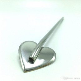 Wholesale Stirring Stainless Steel Straw Spoon Ice Cream Irish coffee Juice Mixer Mixing Rods Drinking Party Bar by Meow