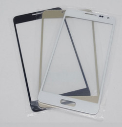 Hot for Samsung Galaxy G850F Replacement LCD Front Touch Screen Glass Outer Lens for Samsung Galaxy Alpha G850F G8508 outer glass Lens