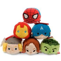 Wholesale Animate little figurine spiderman marvel tsum