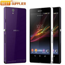 "2016 Hot sale Original Unlocked Sony Xperia Z L36h 5.0"" Android 4.1 Quad core 3G WIFI GPS 13.1MP Camera refurbished Smartphone"