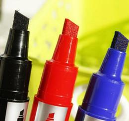 1pc lot Red Black Colored Permanent Oil Marker Scriptliner Markers Felt-tip Pen On Rubber Marker paint pen tire Marker pen for office school