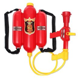 Wholesale Child Summer Toys Child Fire Backpack Nozzle Water Gun Toy Air Pressure Water Gun Summer Beach Hot Selling