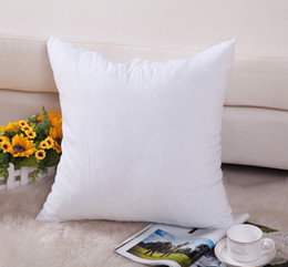 Wholesale white color oz pure cotton canvas DIY paint cushion cover for customized print blank oz cotton pillow cover for DIY print paint