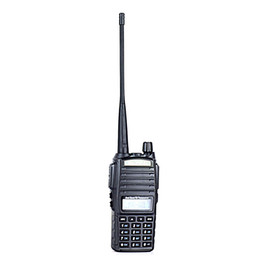 Wholesale Baofeng UV-82 Black Compact Design Dual Band High Low Power Switchable Dual Watch Dual Standby Walkie Talkie