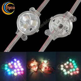 Christmas Lights 30mm Led Point Lights Pixel Light led string light Party Christmas Transparent Waterproof for Outdoor Use free Shipping