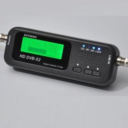 Más vendidos Sathero Pocket Digital Buscador de satélites Meter Buscador de satélites HD Signal Digital Sat Buscador HD SH-100HD con DVBS2 USB 2.0 desde buscador hd sathero fabricantes