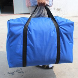 Wholesale Lage Bag Large Thick Waterproof Oxford Bags Aviation Duffel Bag Huge Snakeskin Nylon Travel Bag Promotion
