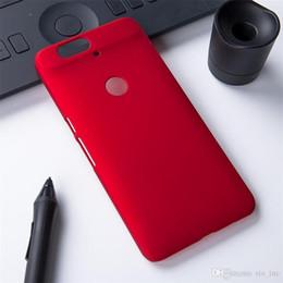 Teléfonos androides de lujo cubren los casos para Huawei G6 Honra 4a 5x Nexus 6p Y360 Cubierta mate del caso plástico Ultra fino PC Shockproof Fábrica desde plástico nexo proveedores