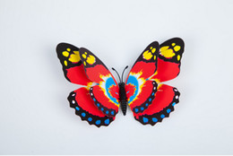 2016 new hot three-dimensional simulation of the butterfly TPT16+12CM simulation butterfly home wedding decoration free shipping