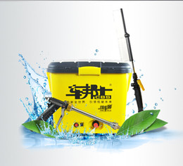 Wholesale 2016 Newest Portable Automatic High Pressure Car Washer Machine V W L L L L Capacity Household Electric Car Washing