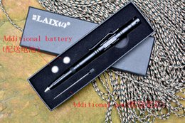 Wholesale LAIX B007 tactical pen T6 anodized Aluminium alloy defense pen outdoor tactical tool for everyday carry guidance