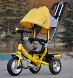 Wholesale Brand New style Baby child kids baby tricycle trolley baby stroller carriage bike bicycle monthes years old ride on car toys