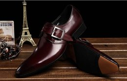 fashion Italian luxury mens shoes casual oxfords black brown designer genuine leather shoe men flats office wedding