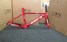 Wholesale Red design BH bike Frameset c flull Carbon Fiber Bicycle Frameset with cm road bike frames