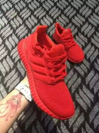 Wholesale Ultra Boost Primeknit Red Women Men Running Shoes Classic Ultra Boosts ultraboost Casual Sneaker Lovers Shoes