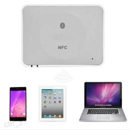 2016 Desktop NFC Audio Receiver Bluetooth Music wirelesss Receiver for Mobile Phone PC tablet iphone ipad soundbox speaker