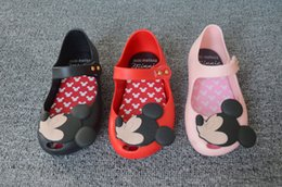 Wholesale Mickey Minnie Sandal Shoes Kids Sandals Childrens Shoes Boys Girls Jelly Sandals Summer Sandals Kids Footwear Children Sandals