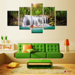 Home Decor 5 Piece Wall Painting Canvas Art Landscape Canvas Art Modern Wall Painting Canvas Prints for Home Decoration Modern Painting