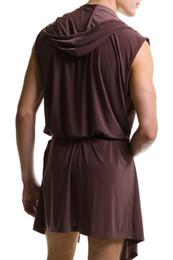 Wholesale pc Men Robes Hot Bathrobe for Man Male Bath Robe Mens Sexy Sleepwear Male Kimono Silk cheap gay wear CK21