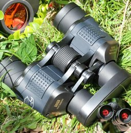 Wholesale 2016 Night Vision Hunting Binoculars x60 M Ourdoor Waterproof Telescope High Power Definition Binoculos Overseas warehouse