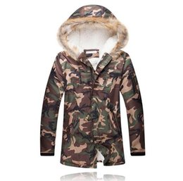 2016 Top Plus Size 5XL Army Green camouflage Warm Winter cotton long jackets with hooded Fashion Zipper Camo Lambswool Hoodies