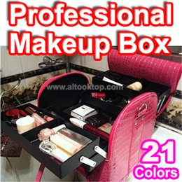Wholesale Professional make up bag necessaire women porta maquiagem necessaries makeup vanity case cute cosmetic maletas de maquiagem mala beautician
