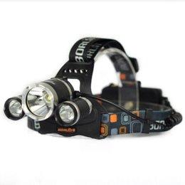3T6 8000LM Boruit RJ-3001 3x XM-L T6 LED USB Headlight 8000 Lumen Head Lamp Flashlight Torch Lanterna Headlamp+Battery Charger