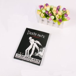 Wholesale NEW Fashion Trend Hot Sale Plastic Black Color Death Note Anime Collectibles Feathers Animation Notebook