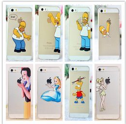 Wholesale fashion The Simpsons Game Catch apply For iphone cases for iphone s case