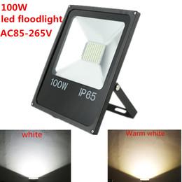 Hot sale 100W 50W 30W reflector led Floodlight led spotlight AC110V 220V outdoor floodlight led lamp