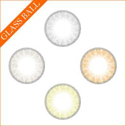 Wholesale glass ball contact lenses colors contacts colored contacts contact lenswith packing boxes via DHL