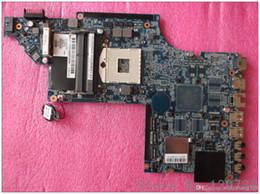 665990-001 for HP pavilion DV7 DV7T DV7-6000 laptop motherboard with intel DDR3 hm65 chipset