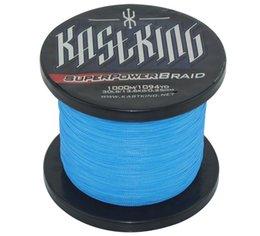 Descuento buena pesca KastKing 20LB de calidad superior Nuevo producto / verde / gris / blanco 4 colores opcionales Good Goods línea de pesca 1000m Azul