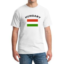 HUNGARY Football Fans Cheer Men T-Shirts Crewneck Short Sleeve Sports Gym 2016 European Cup National Flag T shirts Clothing