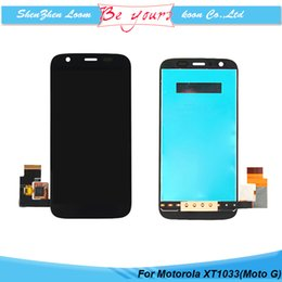 Wholesale Replacement LCD Screen for Motorola Moto G XT1032 Display with Screen Touch Digitizer Assembly Fast Delivery DHL