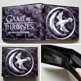 HBO Game of Thrones House Arryn Logo wallets Purse Silver 12cm Leather New W127
