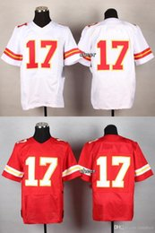 Wholesale 2016 Newest Men s Avery White Red Elite Jerseys Football Jerseys Good quality