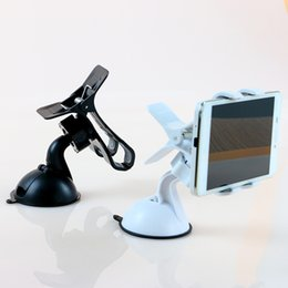 Universal Car Stick Windshield Mount Adjustable Stand Holder For Mobile Phone GPS Clip Mount For Samsung For Iphone