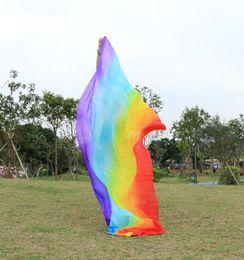016 design 100% real silk belly dance veil, cheap dance veils,Rectangular veil wholesale 250*114cm