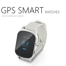 Wholesale 2016 Smart Kid Safe GPS Watch Wristwatch SOS Call Location Finder Locator Tracker for Kid Child Anti Lost Monitor Baby Gift Q50