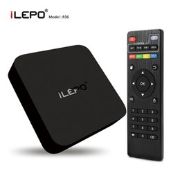 Wholesale iLepo mxq k tv box Rockchip RK3229 Quad Core Streaming Media Box bit Andorid GHz WiFi H tps KODI XBMC Internet TV Boxes