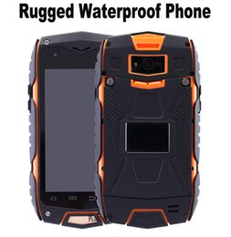 Wholesale Original MTK6582 Quad Core Discovery V11 rugged Smartphone IP67 Waterproof phone GPS Shockproof GB RAM Android z6 MANN ZUG3