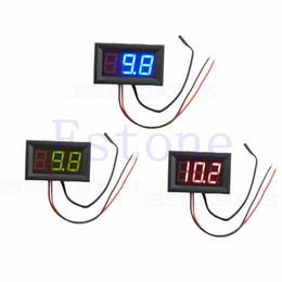 Измеритель температуры панели Онлайн-50 - 110 градусов Цифровой светодиодный термометр DC 5-12V автомобиля температуры метр панели Датчик