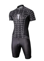 Wholesale Mens Cycling Jersey Sets Cheap Summer Bicycle Clothes Batman Superman Iron Man Spider-man Captain America Cycling Bicycle Suit